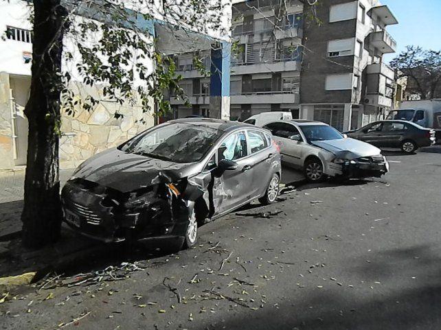 Uno de los tantos choques que se dan en la ciudad. (Foto de archivo)