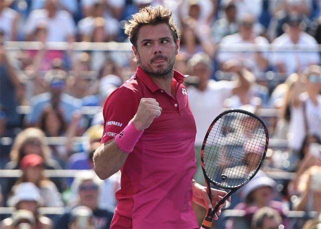 Wawrinka destrozó dos raquetas, pero ganó y será el rival de Del Potro en cuartos del US Open