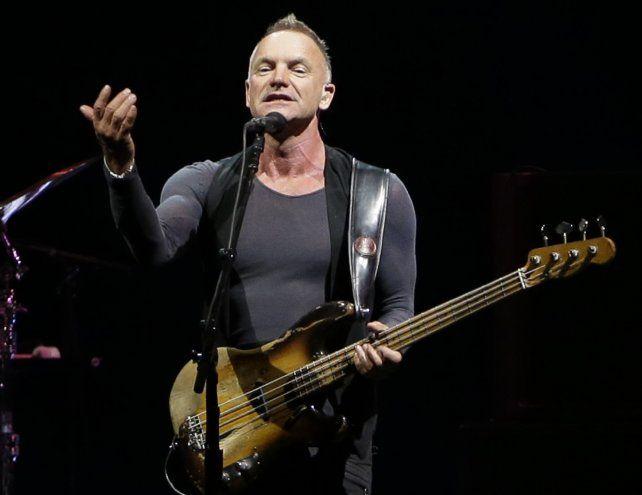 Sting vuelve al rock con un nuevo disco.