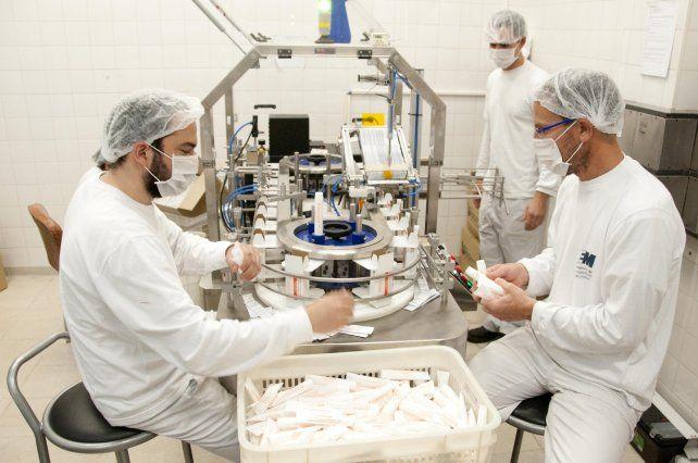 En producción. En el LEM trabajan más de 90 profesionales.