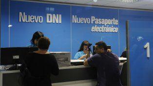 Nuevo local para DNI y pasaportes en Rosario