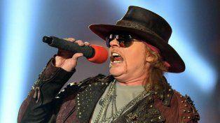 A pocos días de su presentación en Rosario, Axl Rose cuenta cómo se gestó la reunión de Guns N Roses