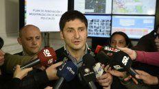 Pullaro, esta mañana en la sede Gobernación. Esperamos un número importantes de efectivos federales en Rosario, dijo .