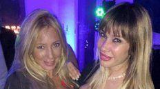 Paula junto a Greta Rodriguez.