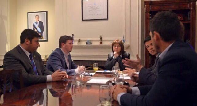 Legisladores santafesinos del PRO se reunieron esta tarde con la ministra de Seguridad nacional