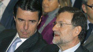 Amigos. El primer ministro Mariano Rajoy (der.)