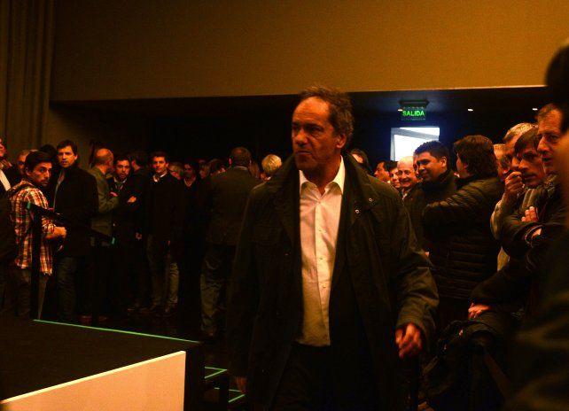 Asistieron entre otros el ex gobernador Daniel Scioli.
