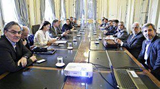Tarifazo. La vicepresidenta encabezó una reunión sobre la suba del gas.