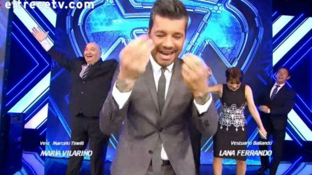 El blooper de Tinelli que le dio un toque distinto al arranque de ShowMatch