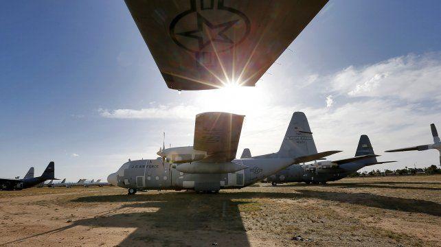 El cementerio de aviones militares más grande del mundo