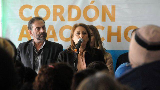 Fein estuvo ayer con la ministra Stanley con quien abordó las políticas sociales que se implementan en Rosario