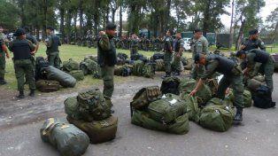 Los efectivos de Gendarmería volverán a la ciudad para patrullar las calles en breve.