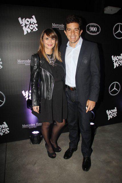 Amalia Granata y Leonardo Squarzon