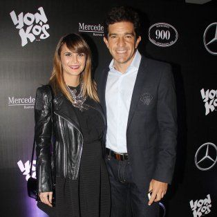 Amalia Granata y Leonardo Squarzon, el novio de la modelo rosarina, en tiempos felices.