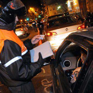 tránsito. Según Ratner, el parque automotor se duplicó y se redujo la cantidad de inspectores.