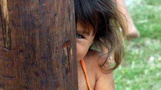 La pobreza infantil se mantiene.