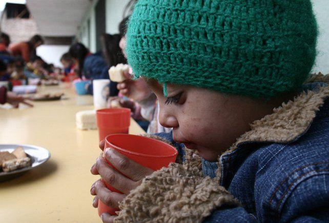 comedores escolares. La inseguridad alimentaria afectaba al 19