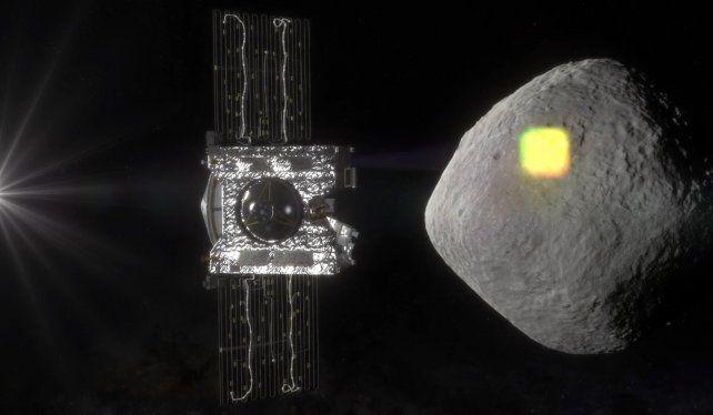 Largo viaje. La sonda Osiris Rex tardará dos años en llegar al astro.