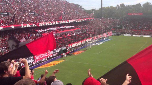 La tribuna popular sur del Coloso Marcelo Bielsa será intervenida con un pulmón el próximo domingo.