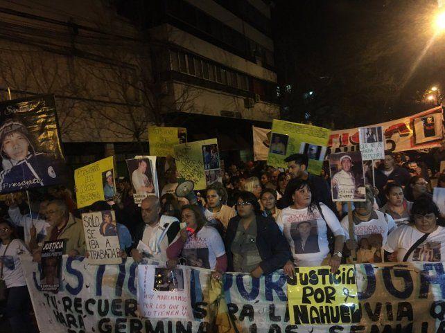 La multitudinaria movilización en reclamo de seguridad y justicia se hizo escuchar en Rosario