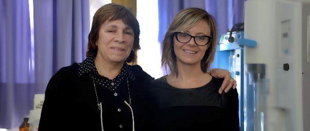 María Catalina Olguín y Gisela Piccirilli