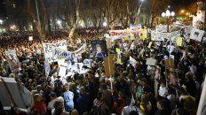 la multitudinaria movilizacion en reclamo de seguridad y justicia se hizo escuchar en rosario