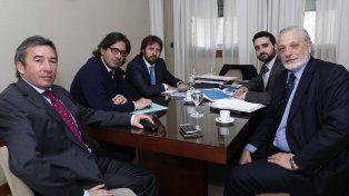 Cónclave. El ministro de Justicia se reunió con su par nacional