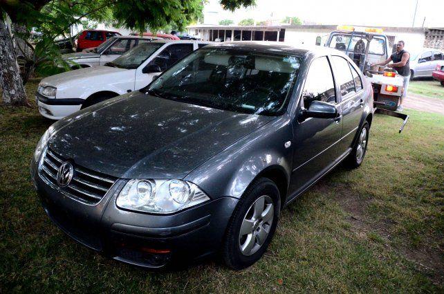 Procedencia dudosa. Uno de los vehículos que le fue incautado a la banda narcocriminal de Los Monos.