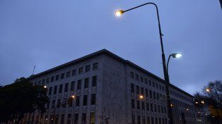Tribunales. El Palacio de Justicia rosarino