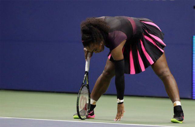 Serena Williams cayó ante la checa Pliskova y cedió el liderazgo del ranking