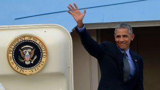 Barack Obama. Participa de una cumbre con diez países del sudeste asiático.