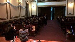 Urticante. El encuentro se realizó el jueves 1 a las 10.45 en la sala de actos.
