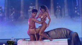 Los ingleses descubrieron a Cinthia Fernández y enloquecieron con su lomazo y un video hot