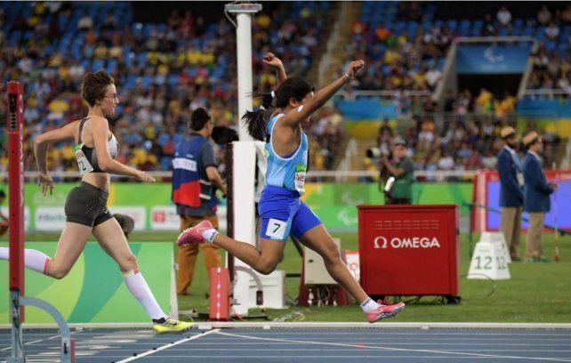 La rosarina Yanina Martínez logró una histórica medalla dorada en los Juegos Paralímpicos de Río