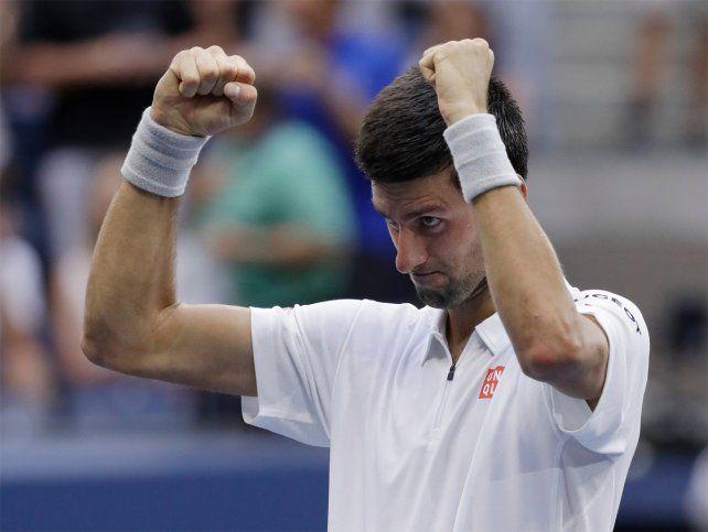 Djokovic venció a Monfils en un partido extraño y pasó a la final del US Open
