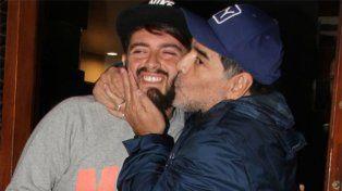 Diego Junior contó los dos deseos que quiere cumplirle a Diego Maradona, su padre