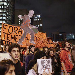 Malestar. Asesores del mandatario brasileño temen que ya sea demasiado tarde para contrarrestar las protestas.