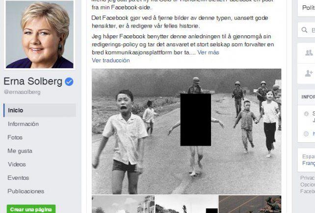 Protagonista. Kim Phuc hoy. Se entristeció por la censura de la red social.
