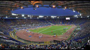 Espectacular. El encuentro se hará en el estadio olímpico de Roma.