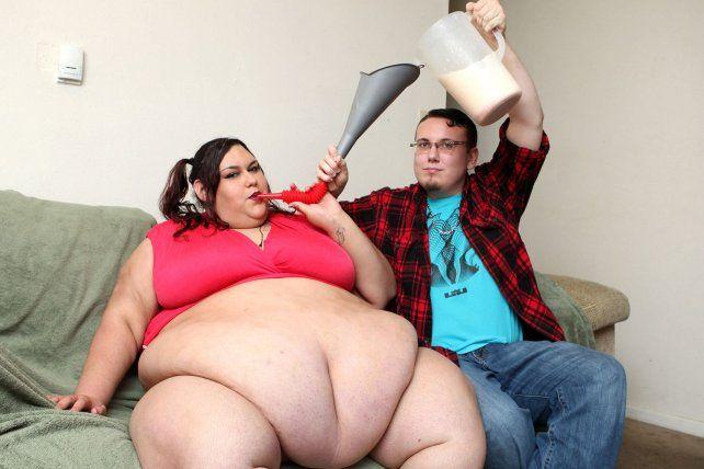 Es modelo y ahora quiere convertirse en la mujer más obesa del mundo