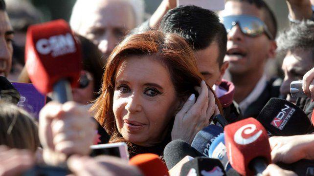 Cristina volvió a disparar contra la administración de Mauricio Macri