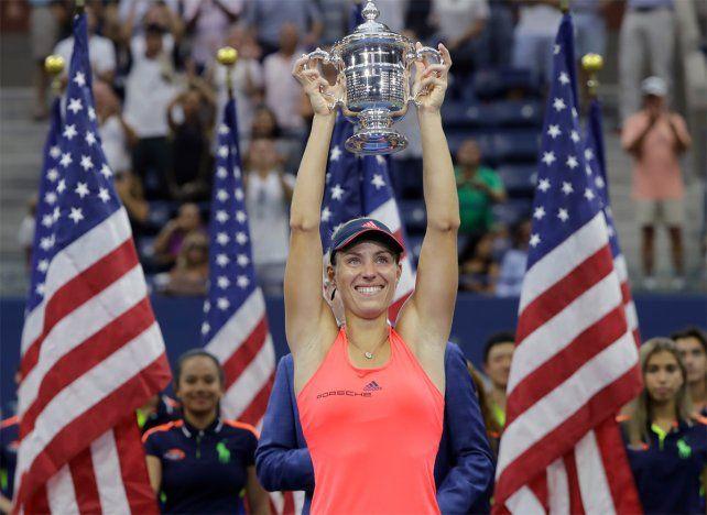 Número uno y campeona: Kerber cerró con título un US Open soñado