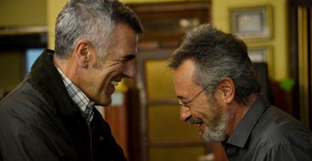 Oscar Martínez y Dady Brieva.