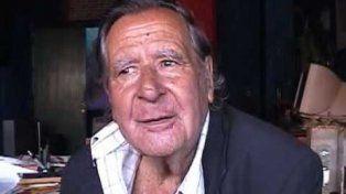 A los 90 años murió el escritor y dramaturgo Dalmiro Sáenz