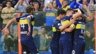 Boca goleó a Belgrano en La Bombonera y logró su primer triunfo en el torneo