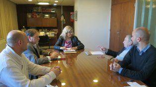 presentación. La ministra de Educación les presentó a los colegios médicos un informe sobre licencias a docentes.