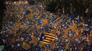 marea catalana. La Diada en Barcelona fue nuevamente multitudinaria. Hubo otras en el resto de la región.