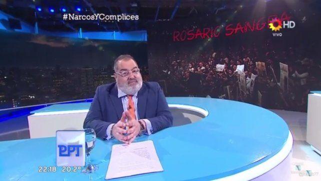 Presentan una denuncia penal a partir del informe sobre Rosario del programa de Jorge Lanata