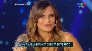 Las cinco frases de Amalia Granata para explicar a Susana cómo sigue después de la infidelidad