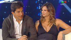 Squarzon y Granata anoche juntos y sonrientes en el programa de Susana.
